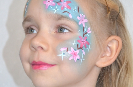 Kinderschminken - Frühling